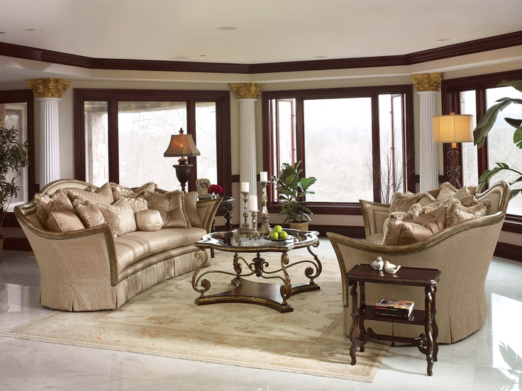 Beautiful Living Room By Marge Carson Marge Carson