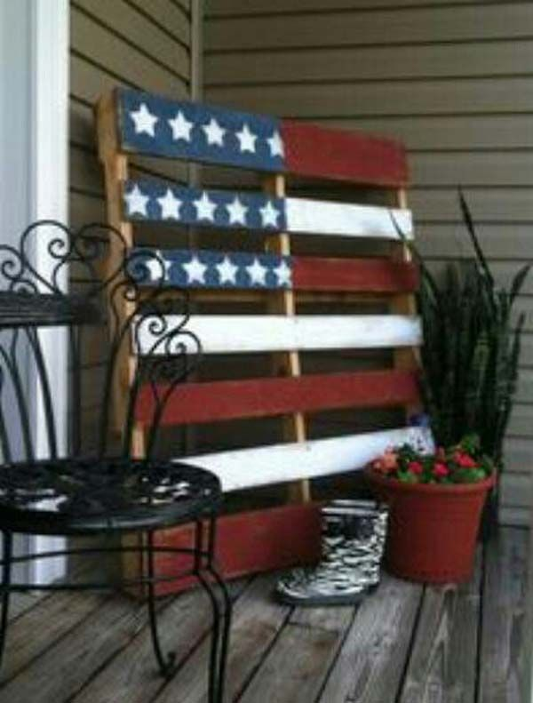 july 4th home decor | 45 Decorations Ideas Bringing The 4th of July Spirit Into Your