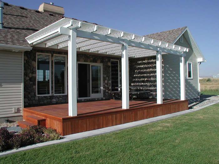 Carport Deck Combination Knudsons Alumawood Pergola