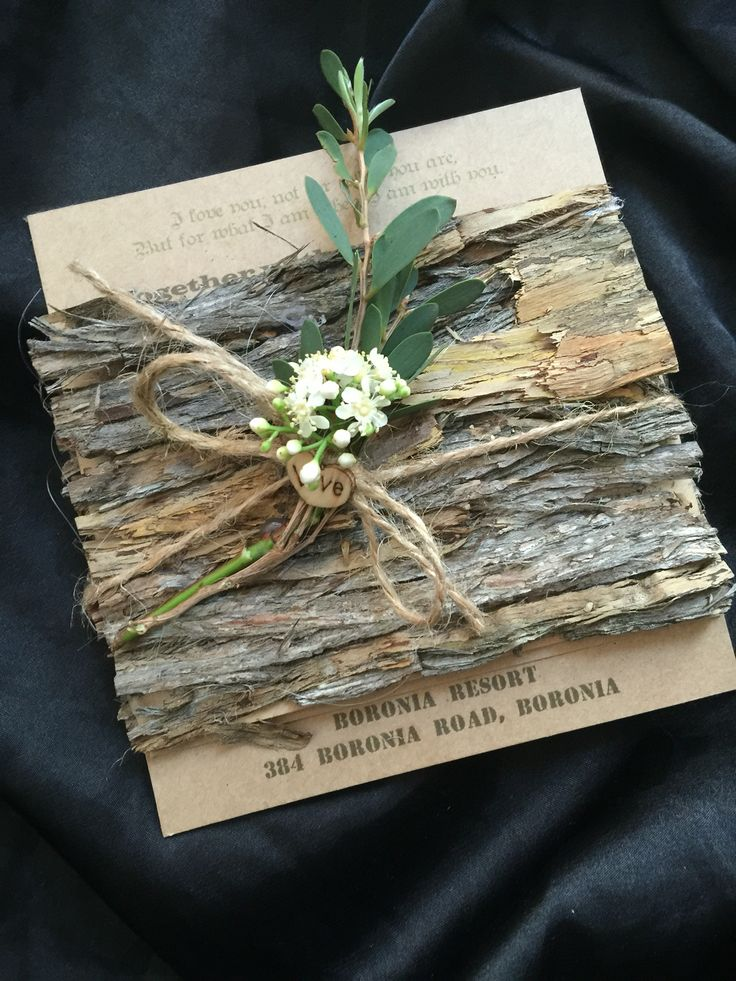 1000 Ideas About Wood Wedding Invitations On Pinterest