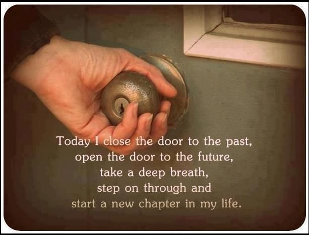 Start a new chapter in my life
