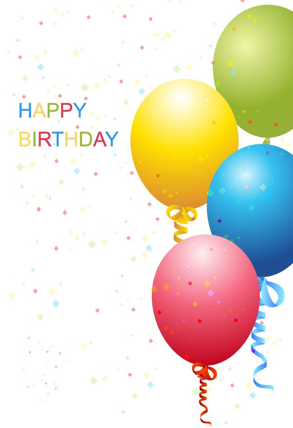 Vector Birthday Template Free Free Vectors Pinterest Happy Happy Birthday And Templates Free