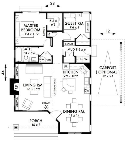 Plan No 595009 House Plans By Westhomeplanners Com Floors Kitchenenglish Cottagesdesign Bedroomsmall