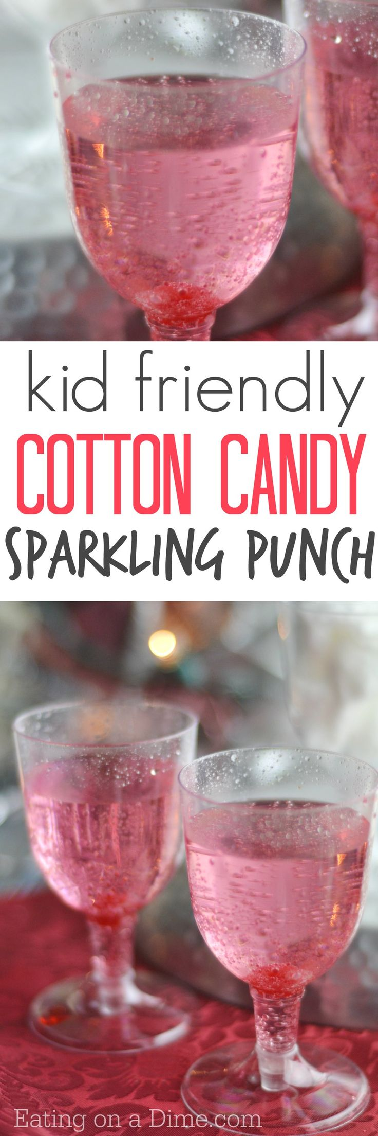 You have to make this super easy Cotton Candy Drink Recipe – the kids love it and