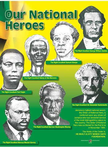 Salute Our National Heroes | I AM A JAMAICAN
