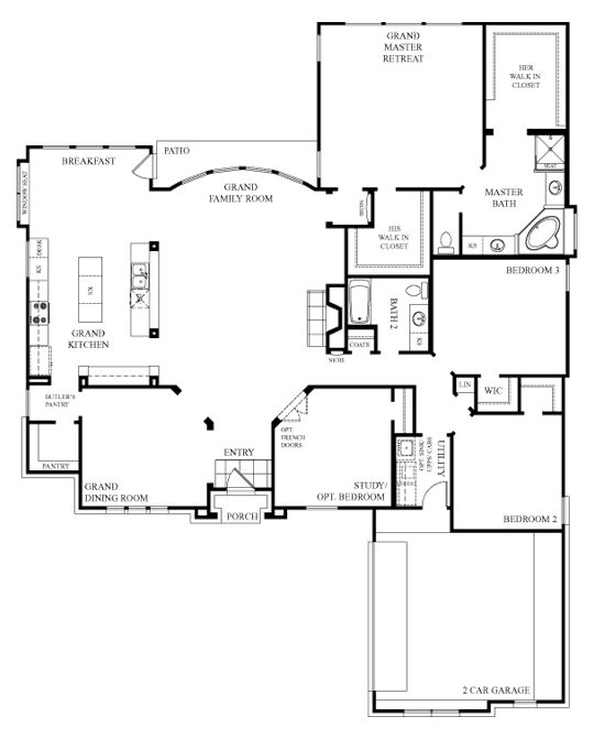 I LOVE This floor plan! I WANT this house!!!!