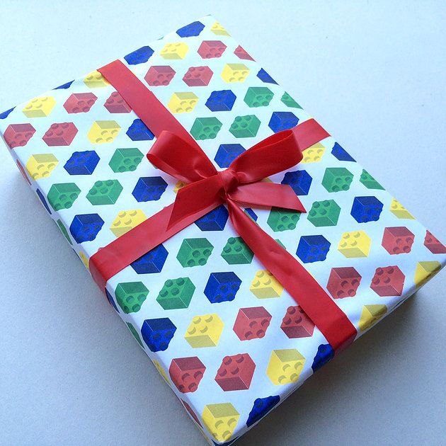 FREE Printable Lego Wrapping Paper Gift Wrap Www