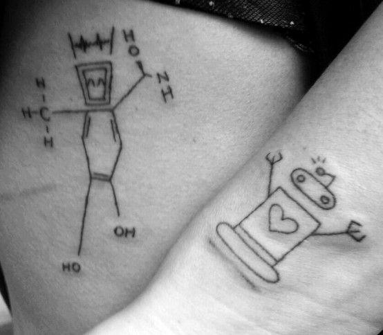 1000 Ideas About Matching Tattoos Friends On Pinterest