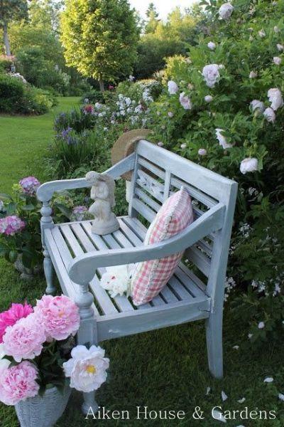 beautiful garden benches Build Your Own Beautiful Garden Bench From DIY Bench Plans