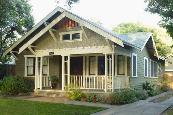 Paint-Color Ideas For Craftsman Houses