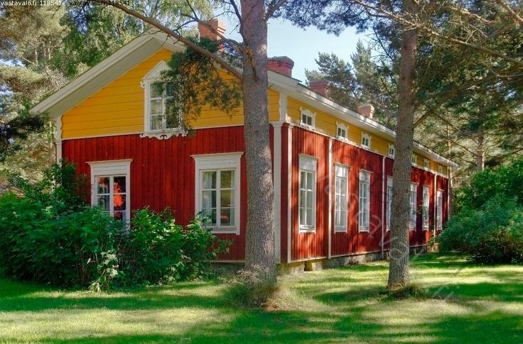 Vanha Suomenruotsalainen Talo Maalaistalo Maatalo