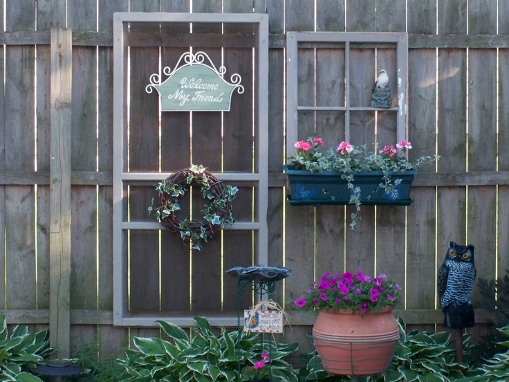 11 Best Images About Fence Panel Crafts On Pinterest