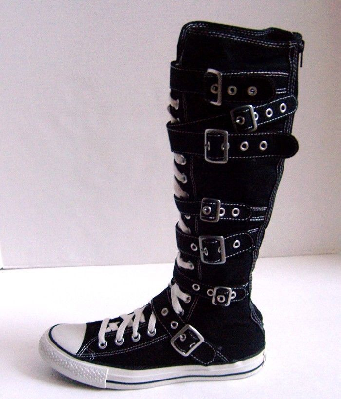 6a61b6bc3313 Knee High Converse Clothing Shoes Accessories Ebay - Modern Home ...