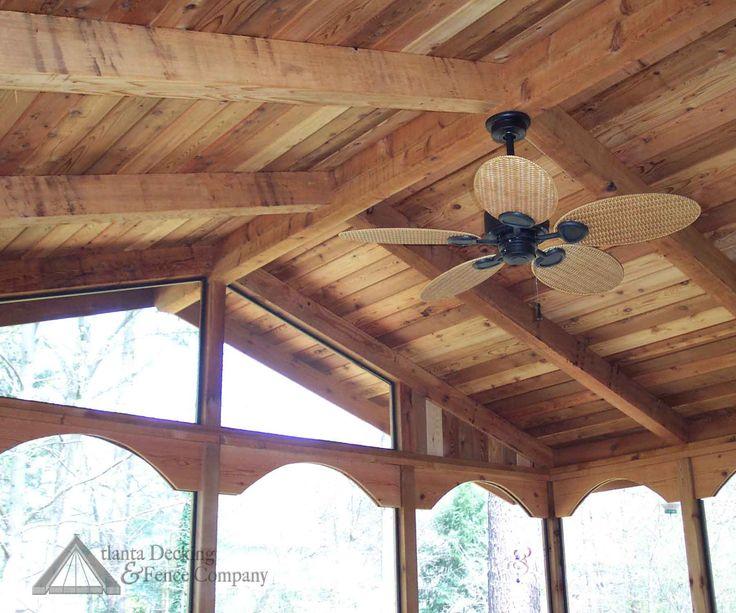 Cedar Ceiling Patio Ideas Pinterest Ceilings
