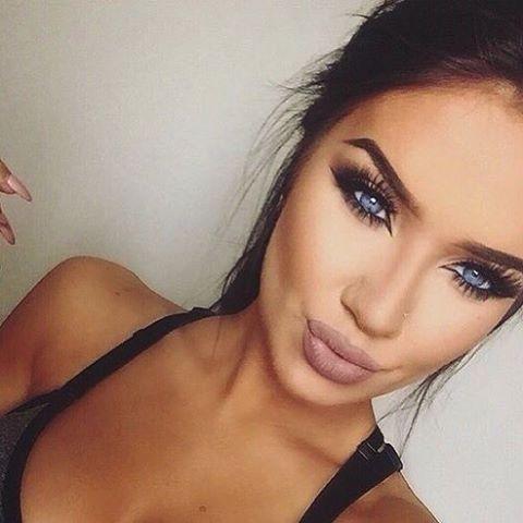 Makeup For Blue Eyes Dark Hair Vidalondon