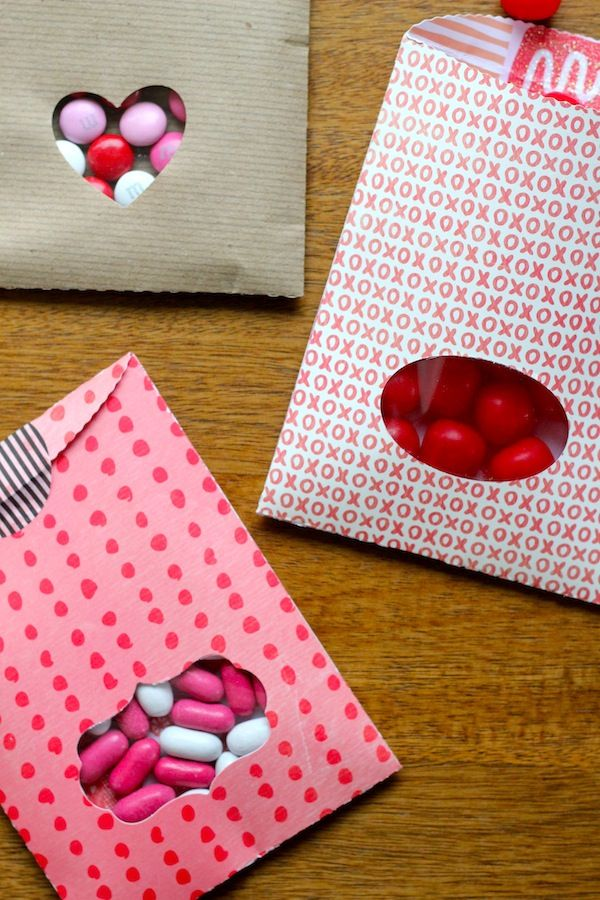 You Are My Fave Diy Valentine Treat Bags Crafts