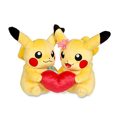 Perfect Pair Pikachu Pok Plush Standard Size Two