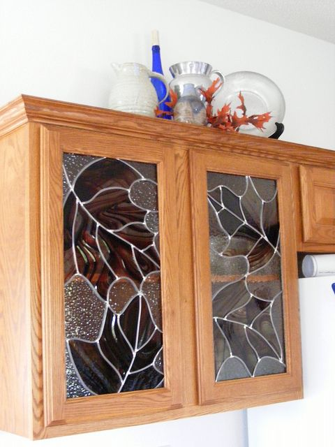 30 best images about cabinet glass on pinterest custom glass glass cabinets and stained glass on kitchen cabinets glass inserts id=47994