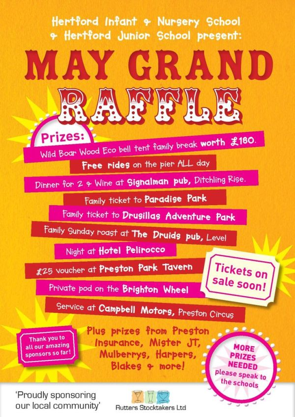 Raffle Poster | Layout Concepts | Pinterest | Activities ...