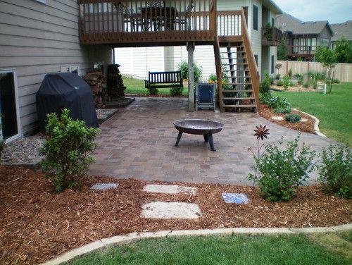 Landscape Walkout Basement Design, Pictures, Remodel ... on Walkout Basement Patio Designs id=23257