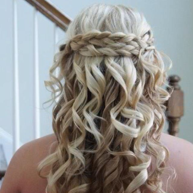 Fancy Haircute For Weddings Or Other Special Occasions