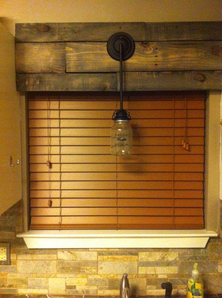 Cornice Board Fit Wooden