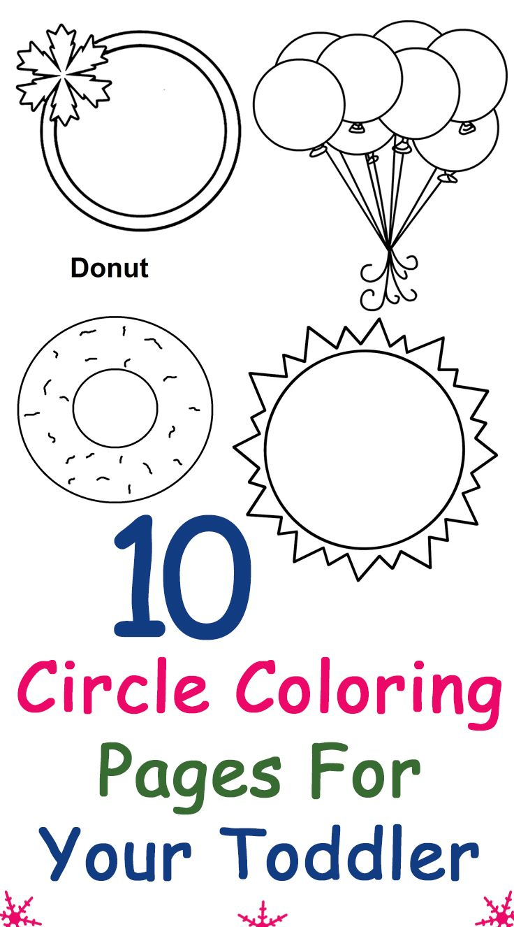 Top 25 Free Printable Circle Coloring Pages Online ... | colouring pages for preschool