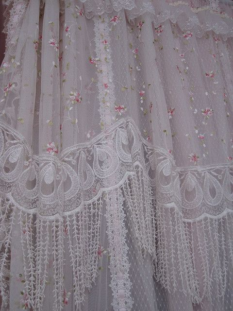 42 Best Images About Shabby Chic Shower Curtains On Pinterest Lace Shower Curtains Romantic