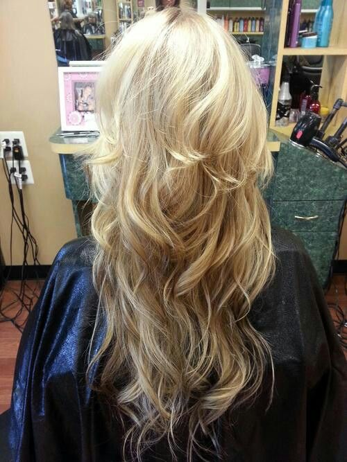 Reverse Ombre Hair Pinterest Colors Layering And Curls
