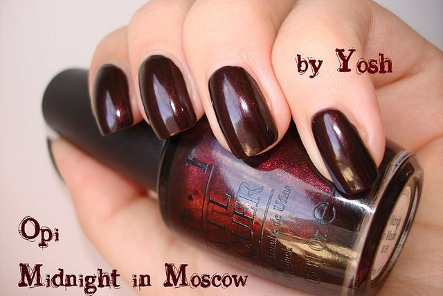 OPI Midnight In Moscow My Polish Pinterest OPI And