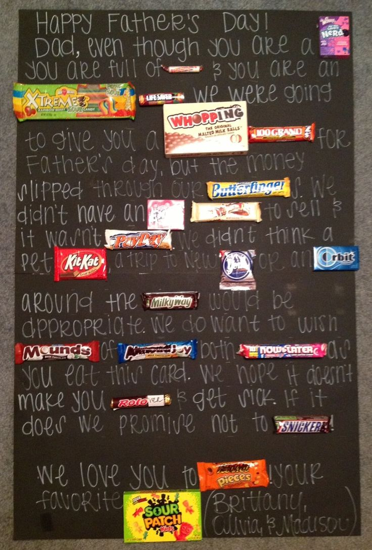 Fathers Day Candy Card Done And Done Pinterest 2
