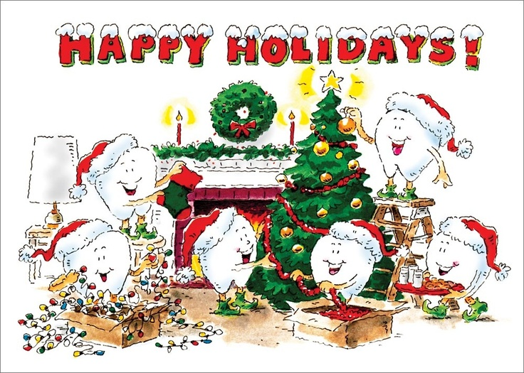 Happy Holidays Teeth From All Of Us At Dealon Dental To