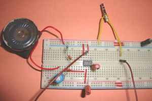 Small Loudspeaker for Computer or Cell Phone | Electronic Circuits | Pinterest | Circuit diagram