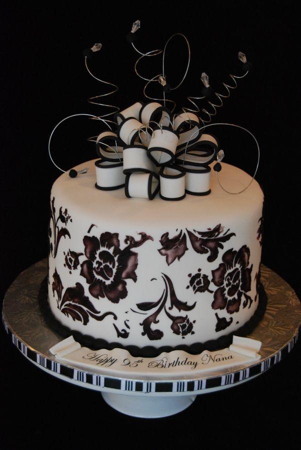 95th Birthday Cake Birthday Cake Photos Cakes
