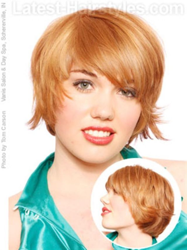 Bing very short  haircuts  for women  with round faces