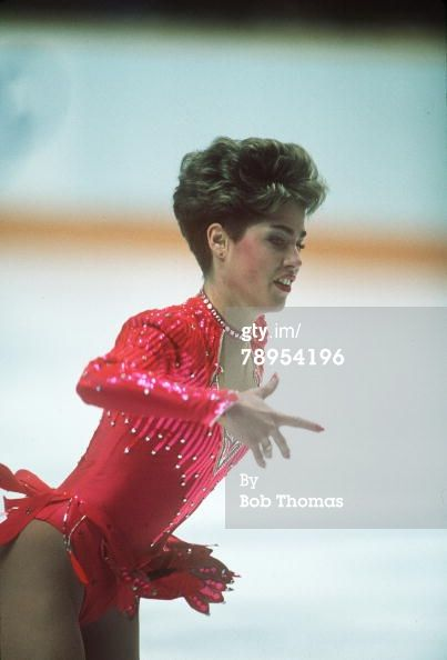 Jill Trenary Short Program Calgary Olympics 1988 Figure