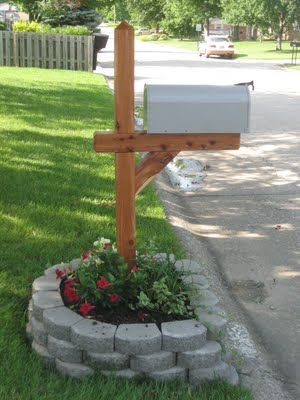 Mailbox Garden – Spruce up
