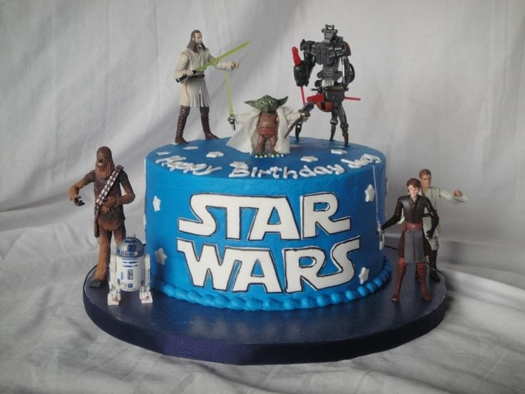 Simple 8 Quot Star Wars Themed Cake This 5 Year Old Knew What
