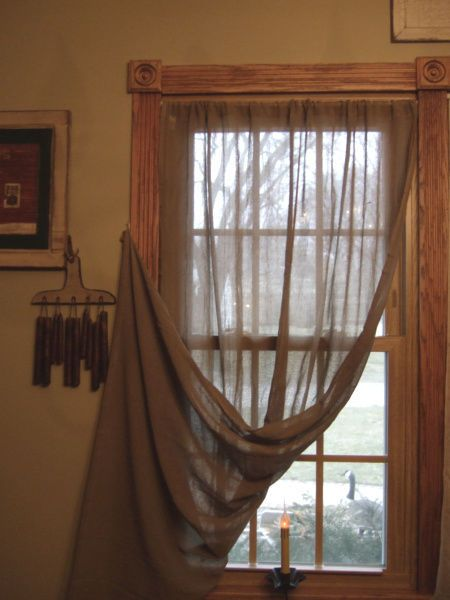 95 Best Images About Primitive Window Treatments On Pinterest Window Treatments Country