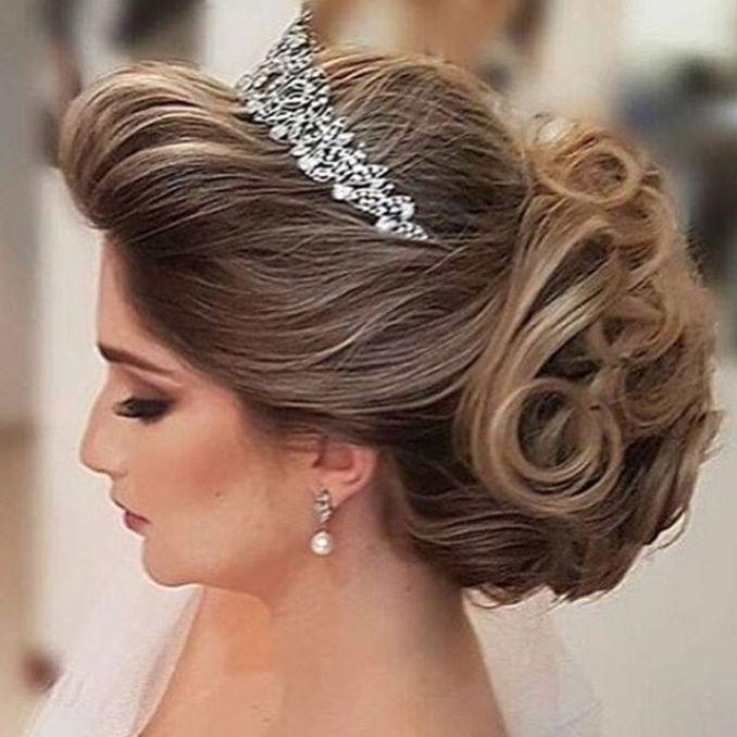Penteados de noiva 2018 curto