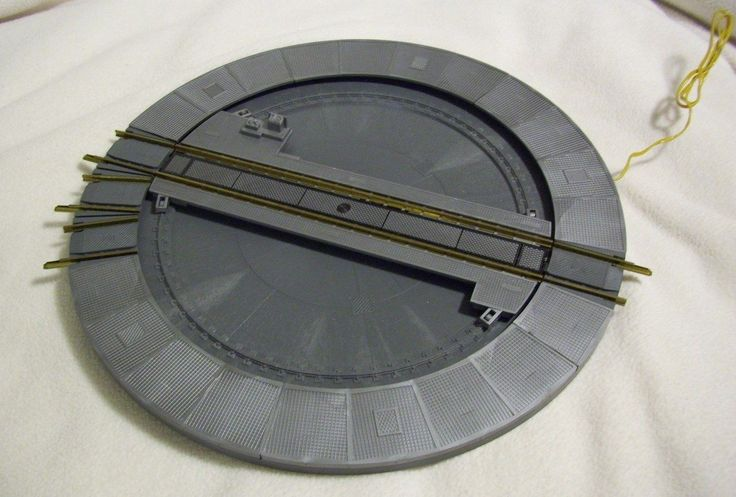Fleischmann Model Railroad HO Manual Turntable 6050 Model Railroad Collectibles Pinterest