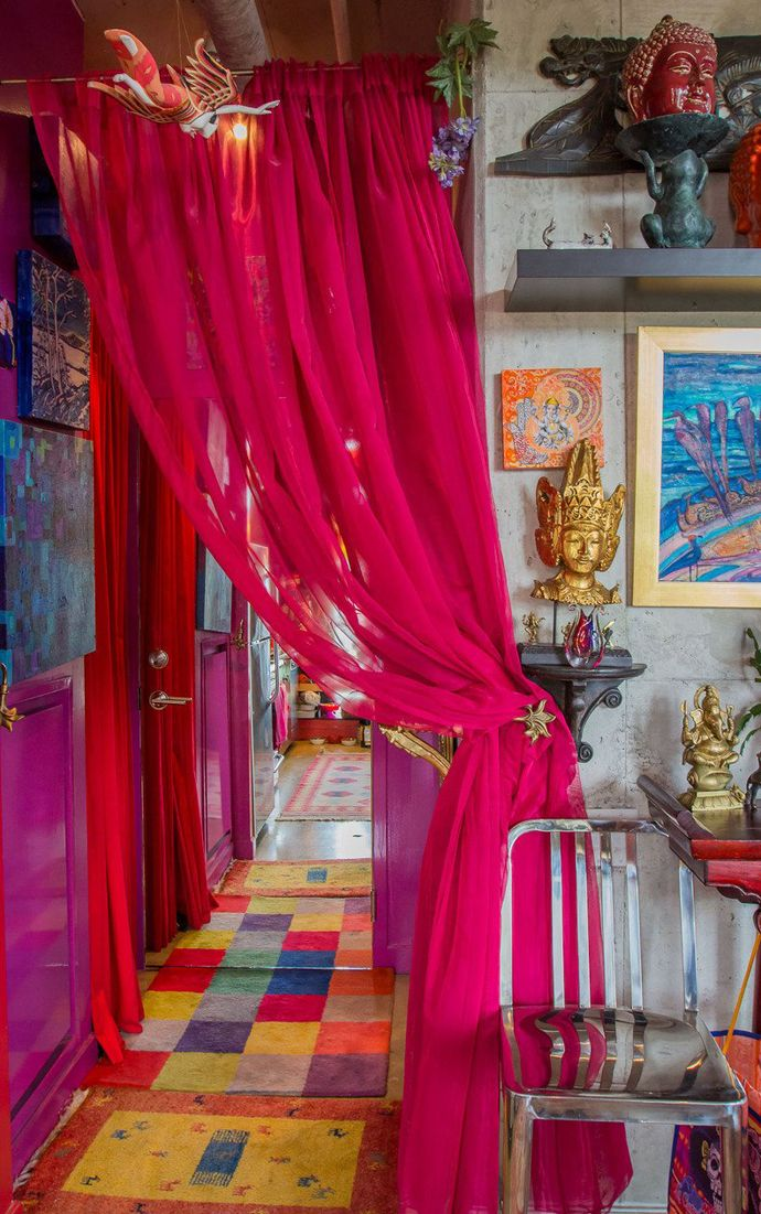 Welcome to Karens Color Explosion! Bold Colors Creates a Space that is Uniquely Hers
