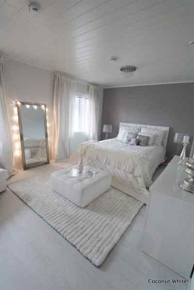 Find This Pin And More On Interior Design Ideas Coconut White Chic Bedroom