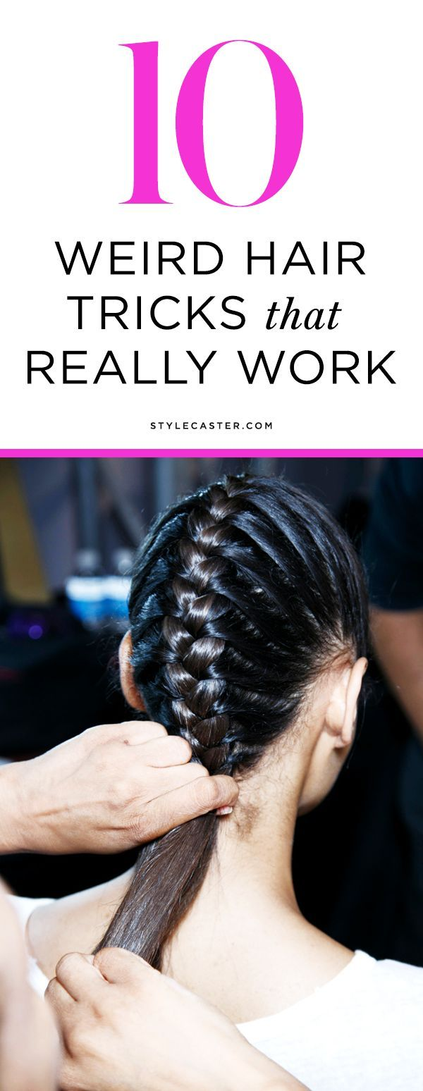10 Weird Hair Tricks That Really Work Diy And Crafts Hair And Shampoos
