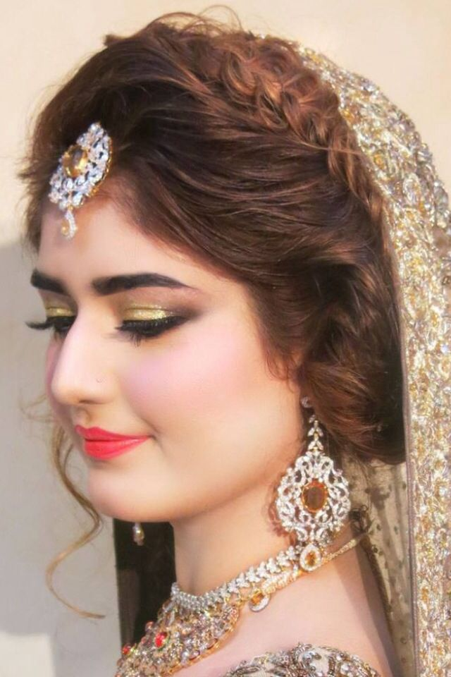Beautiful Bride Makeover Done By NatashaSalon