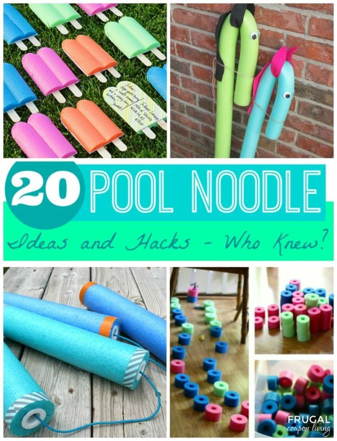 20 pool noodle ideas and hacks who knew kid other