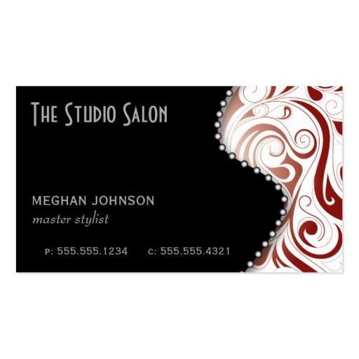 1000 Images About White And Red Business Cards On