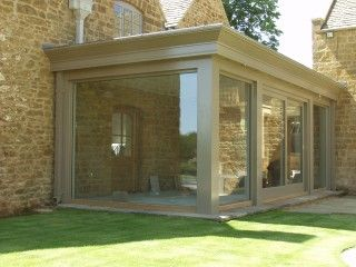 Enclosed Patio. Nice for dogs when it's freezing outside ... on Closed Patio Design id=19033