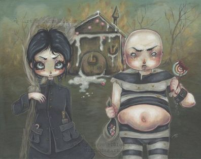 Image result for surreal hansel and gretel