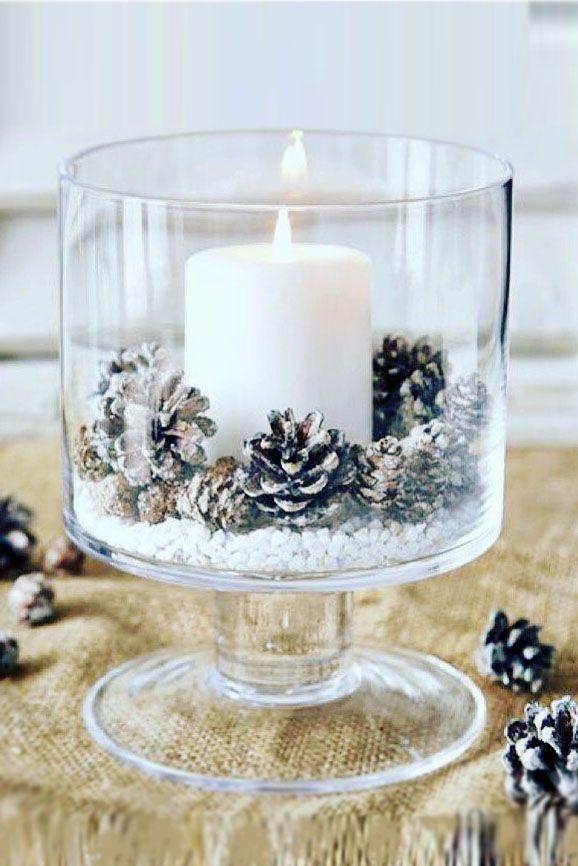 Adorable Fall Or Winter Glam Wedding Centerpieces Weddings